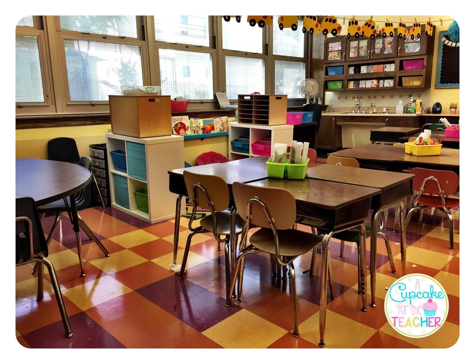 Classroom Tour 2015 2016 A Cupcake for the Teacher