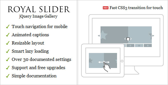 Image for RoyalSlider – Touch Content Slider Plugin