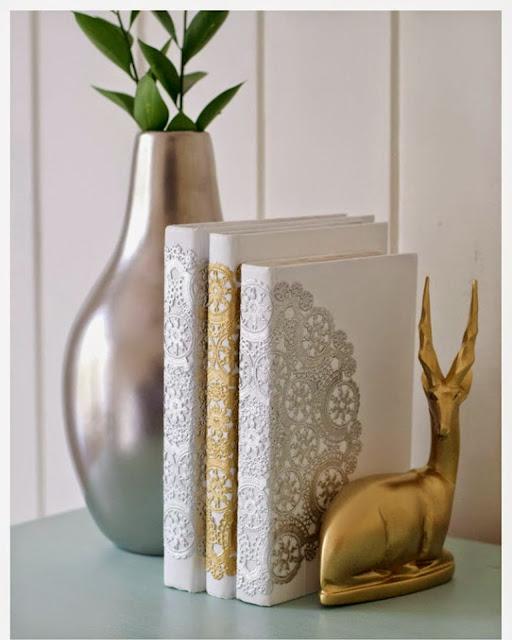 Cubierta de Libros con Tapetes
