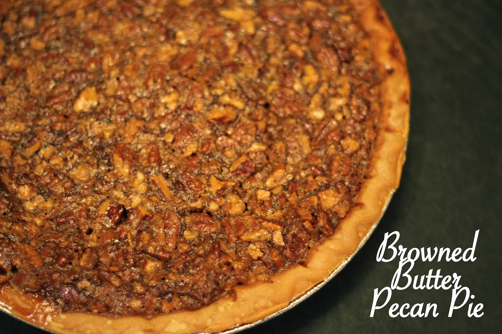 My So-Called (Mommy) Life: Browned Butter Pecan Pie