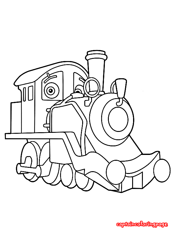 Chuggington coloring pages free download Coloring Page