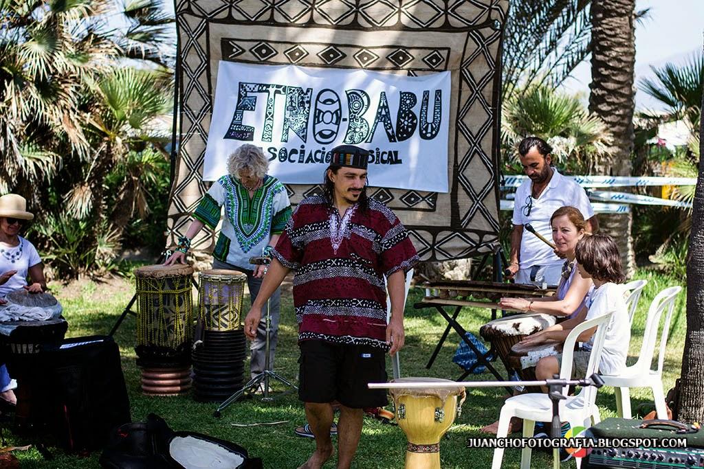 Etnobabu en la feria de Artesanía