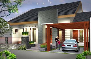 Desain Rumah Idaman Minimalis dan Elegan 2015