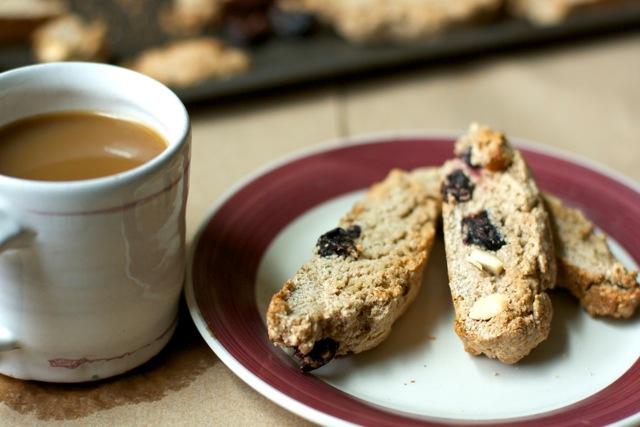 That's So Vegan: Cherry & Almond Biscotti