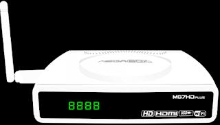MEGABOX MG7 HD PLUS - ATUALIZAÇÃO 11/07/2015