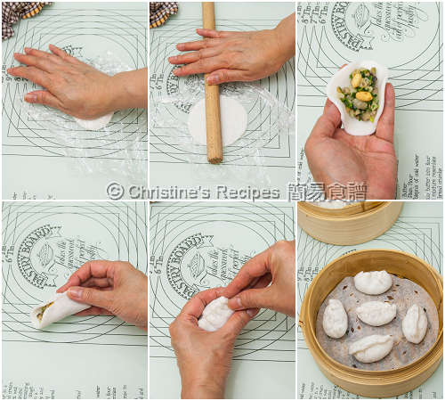 潮州粉果皮 How To Make Teochew Dumpling Wrappers02