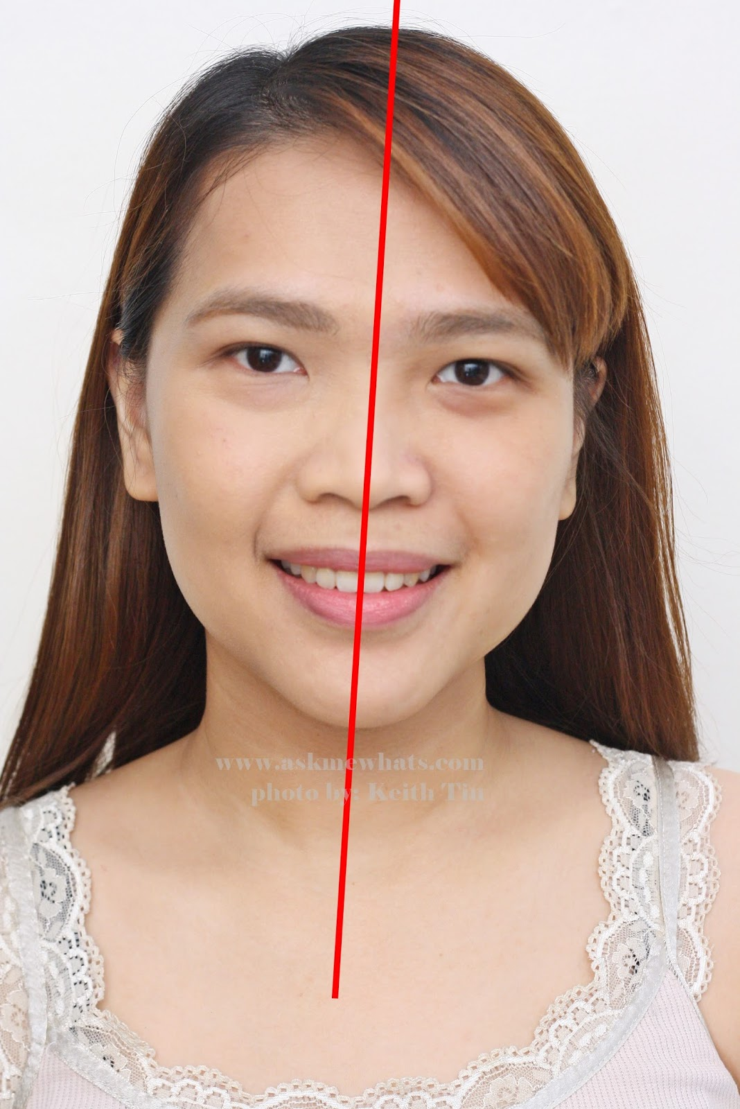 Max FactorX Skin Luminizer Foundation before and after photo