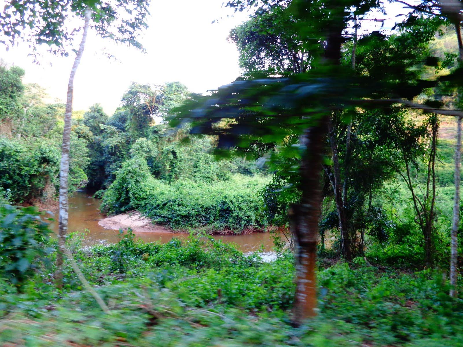 Somos banhados pelo Braço Sul do Rio Jucu