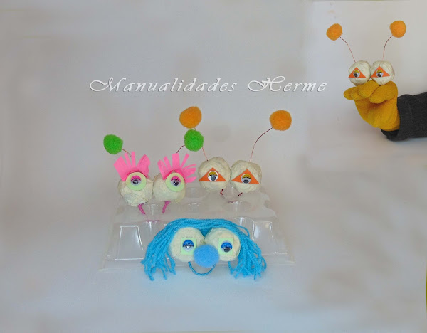Marioneta aprender manualidades es - Como hacer marionetas de mano ...