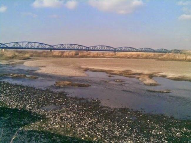 Petanda Kiamat Sungai Euphrates Di Syria Hampir Sepenuhnya Kering