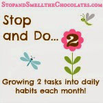 Working on 2 habits a month
