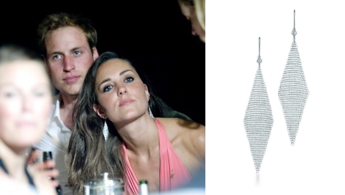 Duchess kate kate loves jewellery earrings patiffany co aloadofball