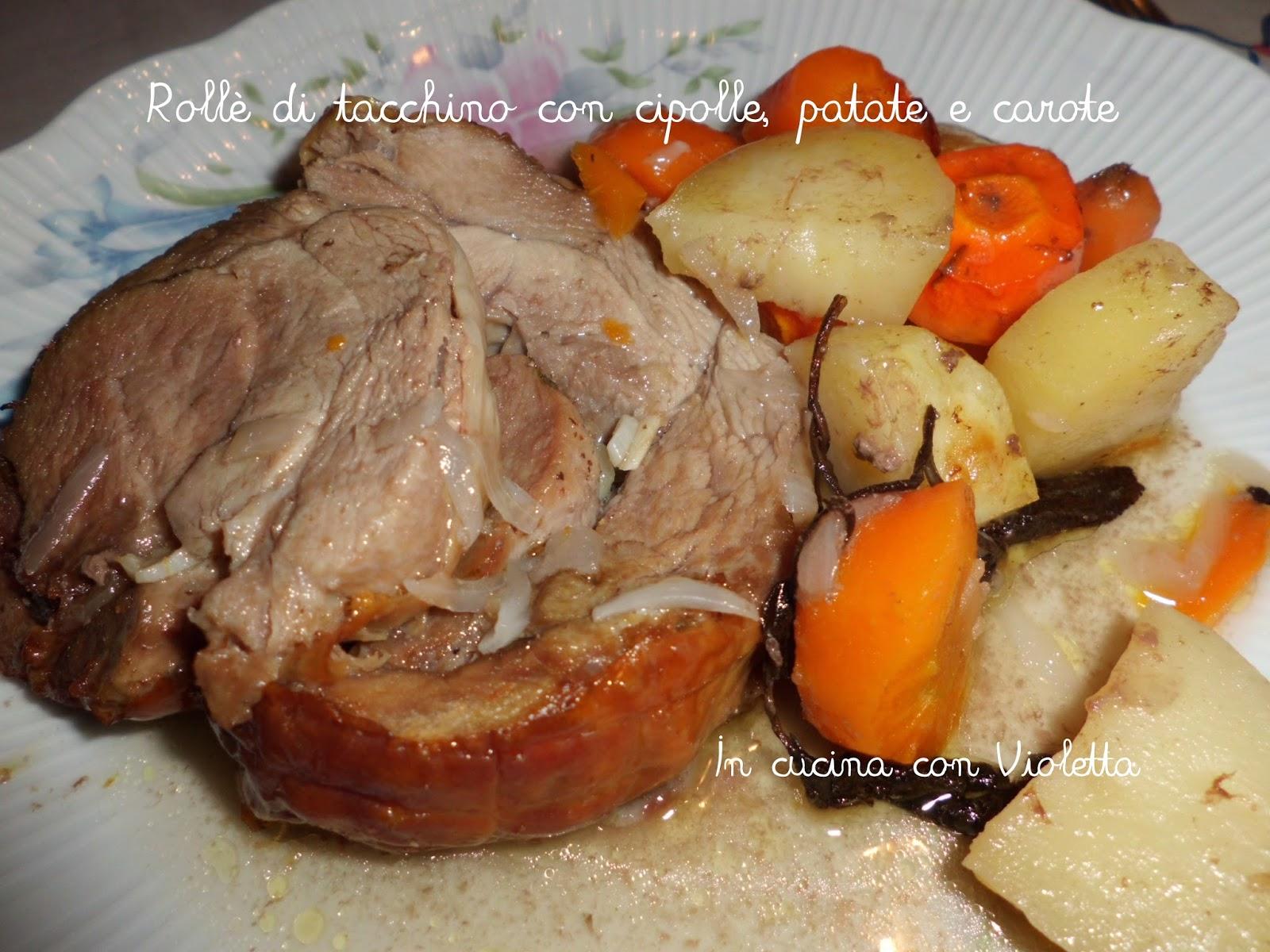 In Cucina Con Violetta: Rollé di Tacchino