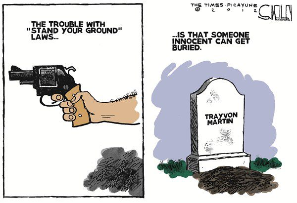 the stand your ground law The stand your ground law has now been infused into the self-defense jurisprudence in florida and elsewhere, and comes into play in countless trials.