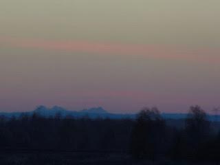 Tatry z lotniska w Weryni - zbliżenie, 2015.11.08. fot. Józef Świątek
