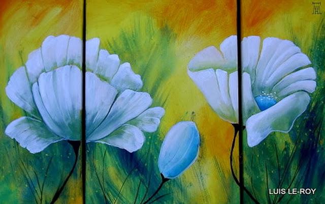 triptico-de-flores