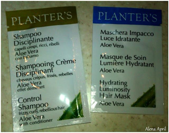 Шампунь-бальзам и маска для волос Planter's с Алоэ Вера