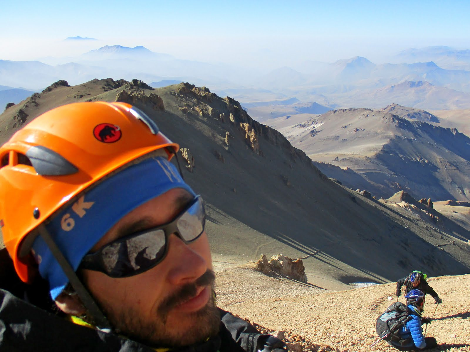 En el techo de Patagonia (4713m)