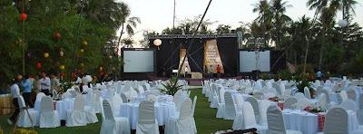 Địa điểm tiệc cưới tại khu du lịch Bình Quới 2