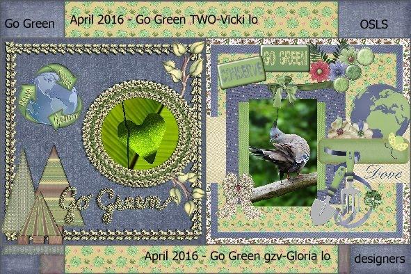 April 2016 - Go Green Vicki-Gloria lo
