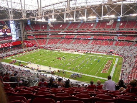 Super Bowl Luxury Suites For Sale, University of Phoenix Stadium