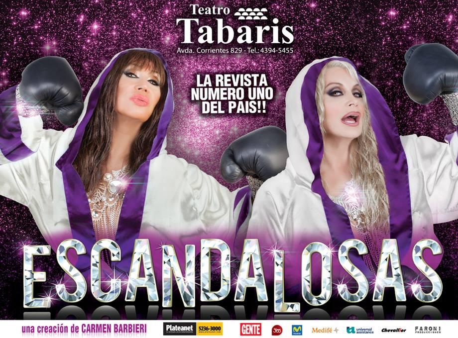 Carmen y moria son escandalosas hoy 21hs teatro for Mundo del espectaculo hoy