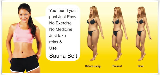 Fat burning - Sauna Belt Velform