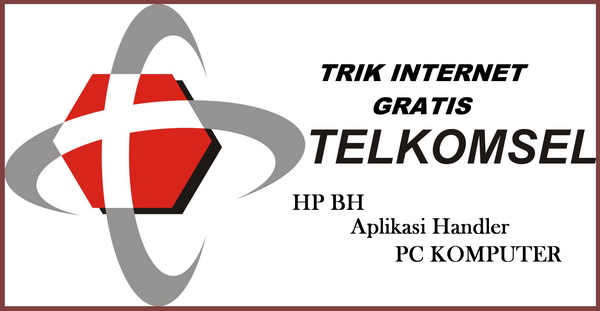 trik internet gratis telkomsel via pc komputer