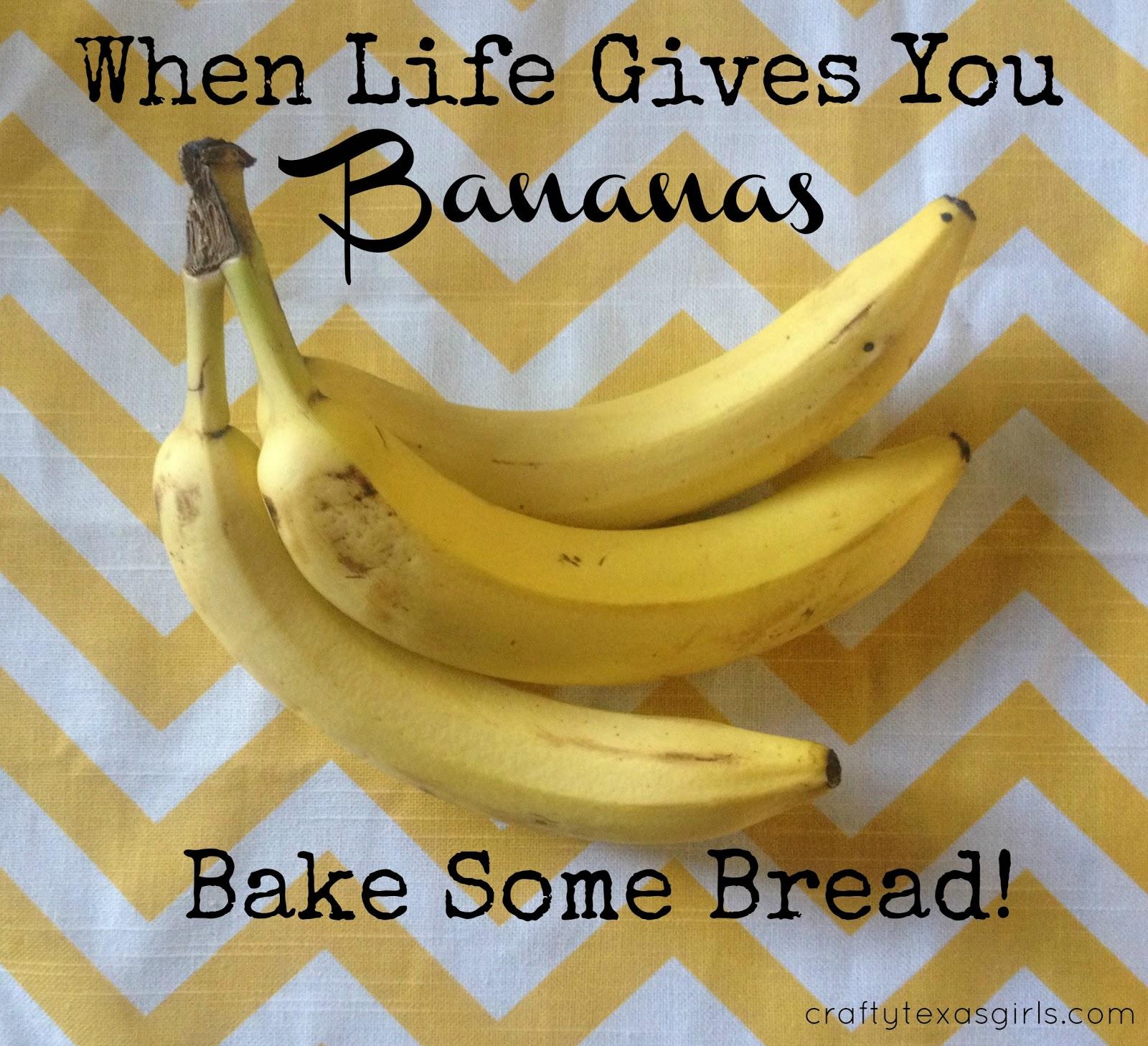 Crafty Texas Girls Bake It Brown Sugar Banana Bread