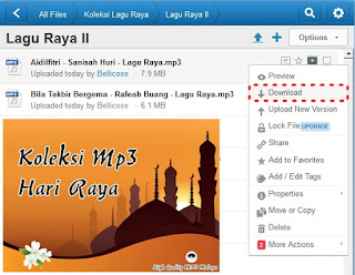 Download Lagu Raya MP3 Online