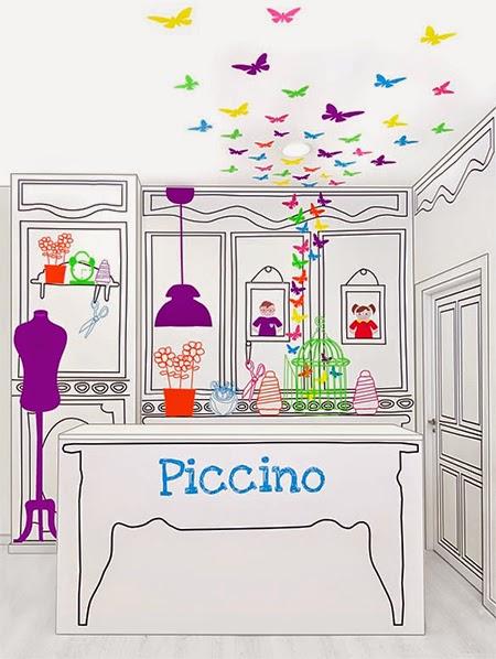Loja infantil, quarto de criança, decoração, decoração infantil, loja colorida