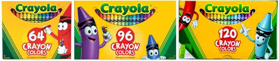 with crayola changing their large box core products to a new design this year featuring tip i thought it was time to ponder just who this character is and - Crayola Pictures