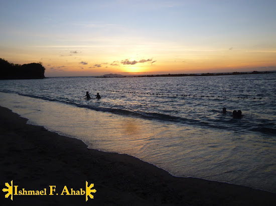 A view of sunset at Canyon Cove (Nasugbu, Batangas)