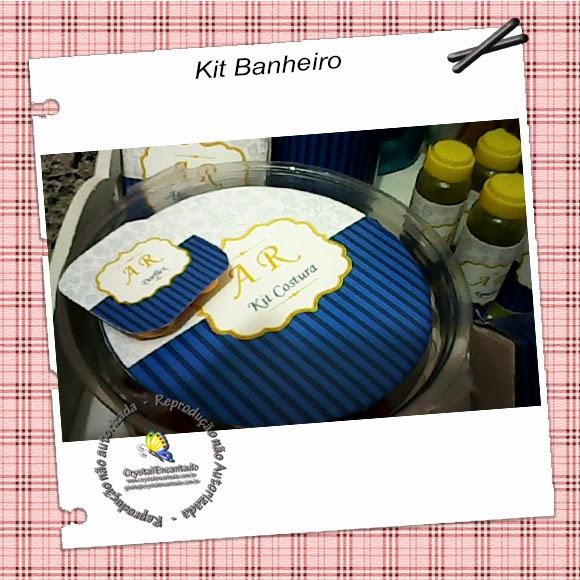 Kit Banheiro personalizado