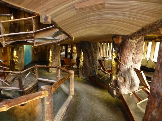 Fachadas de casas fachadas de interiores de casas - Interiores casas de madera ...