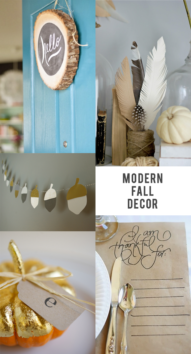 Modern Fall Decor Favorites