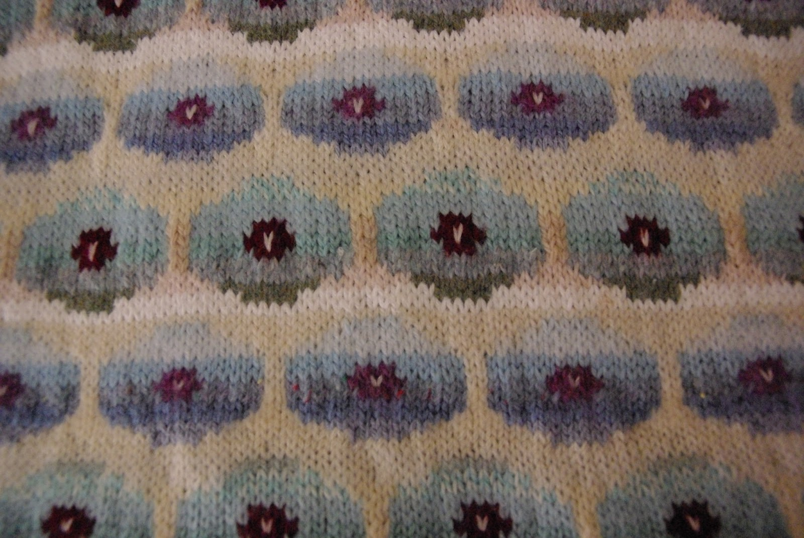 Knitographical kaffe fassett pattern in colour i used to finish half knitted garments for her as an enormous thank you she gave me a copy of kaffe fassetts glorious bankloansurffo Choice Image