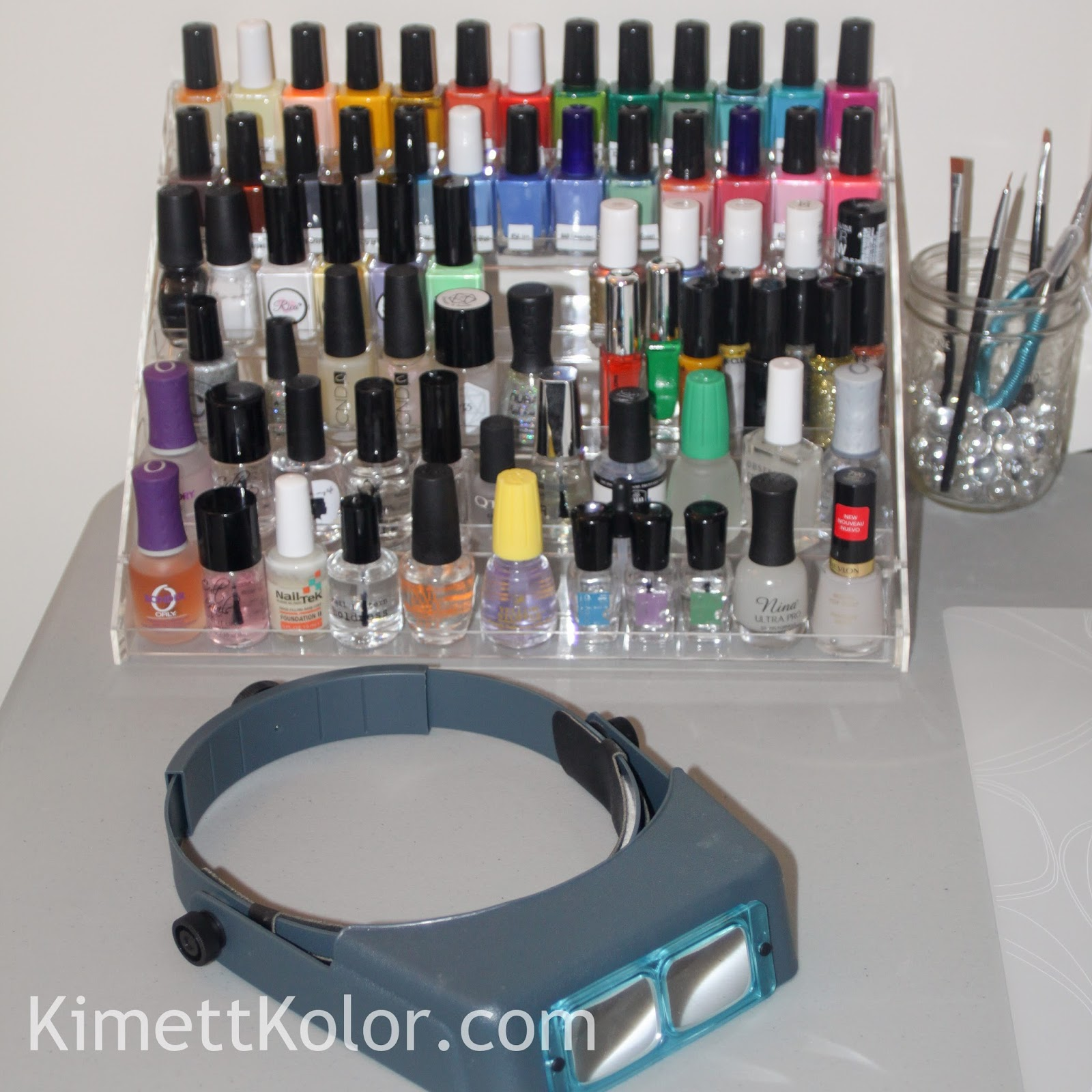 Kimett Kolor\'s Nail Art Station and Polish Organization of Regular ...