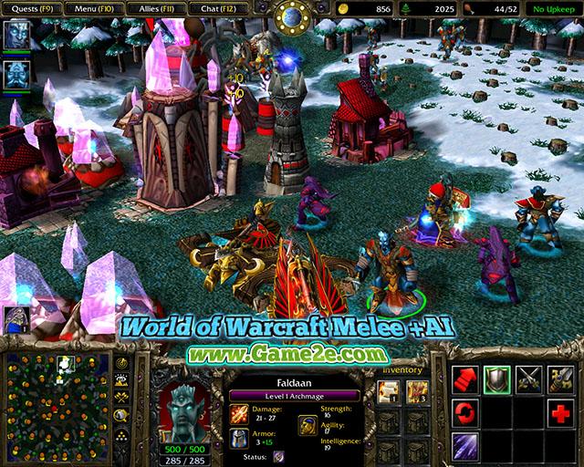 wow arena warcraft 3 map download