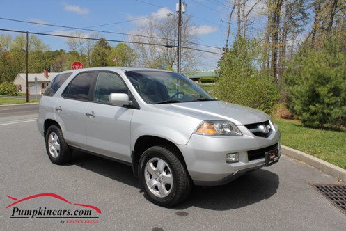 Very Affordable 2006 Acura Mdx With Silver Exterior On Charcoal Leather Interior Clean Carfax Guaranteed Options Include Moon Roof And Heated Seats