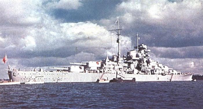 Seconde guerre mondiale l allemagne aligne de grands navires de guerre