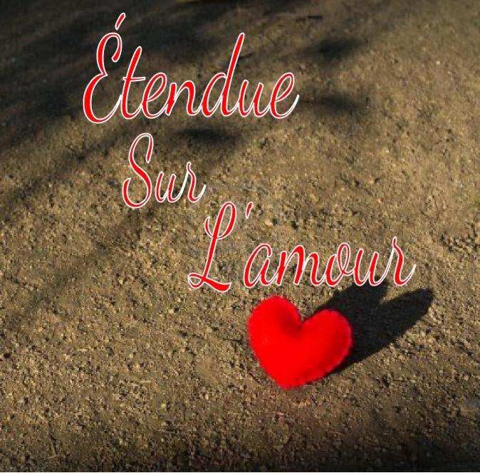 Cœur et poème amour carte