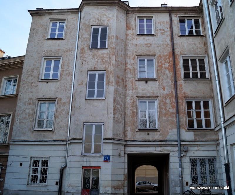 Warszawa Powiśle kamienica Mariensztat kapliczka