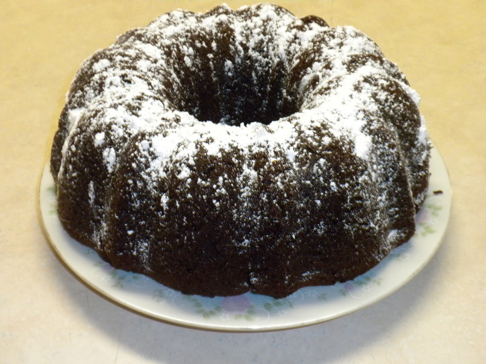 ... hectic, crafty life!: The ABSOLUTE Best Chocolate Bundt Cake Ever