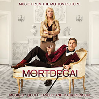 Mortdecai Soundtrack