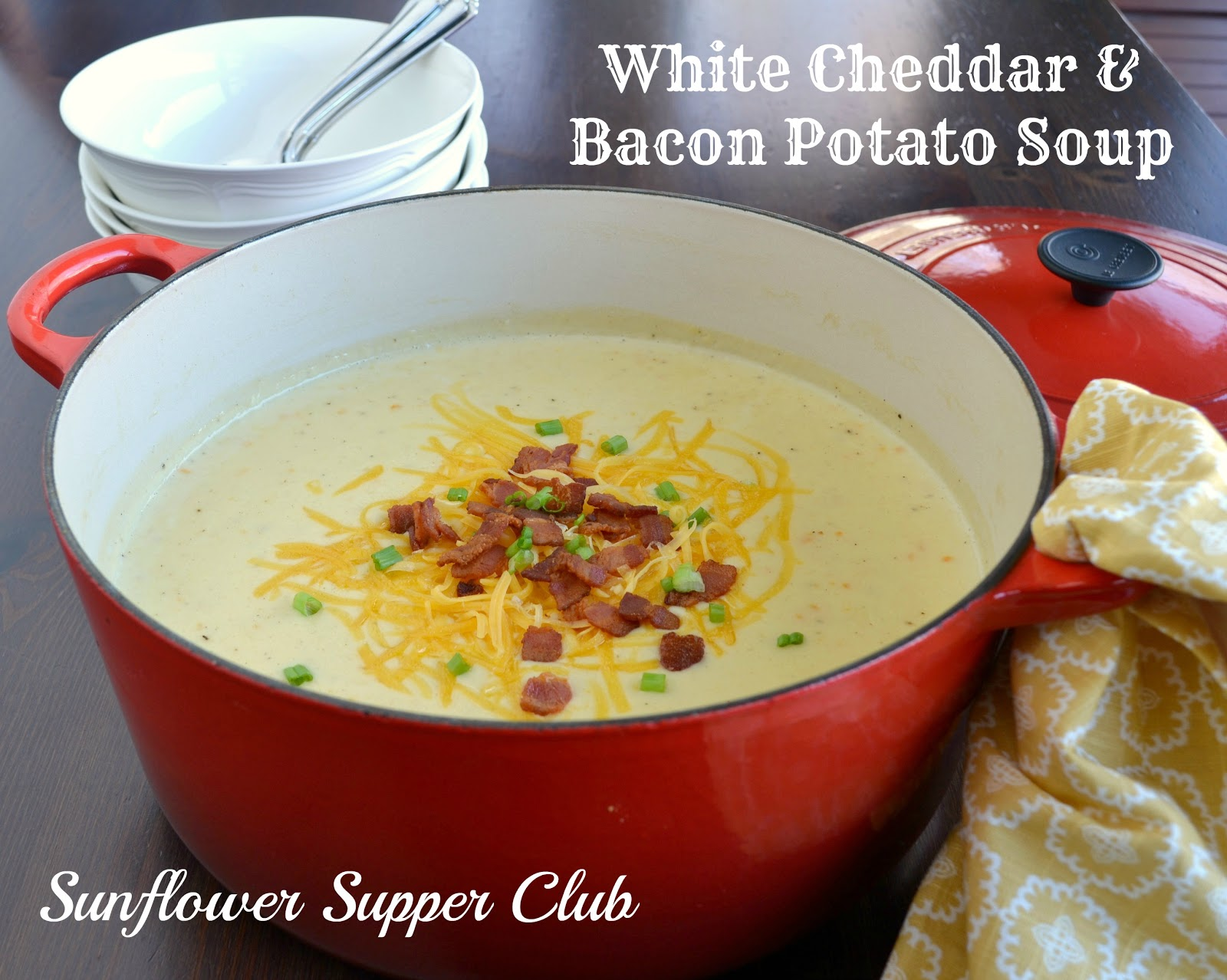 white cheddar bacon potato soup 6 7 thick cut slices bacon about 1 2 ...