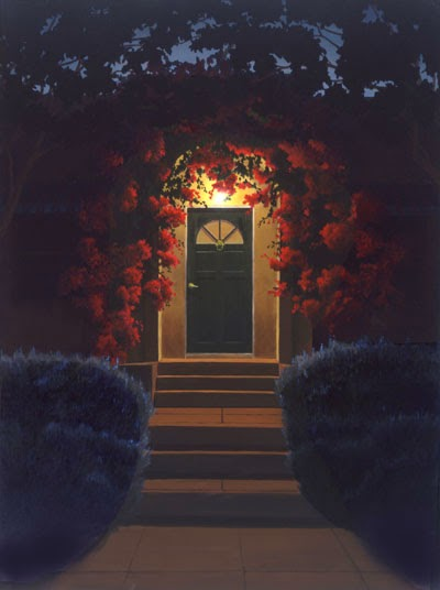 nuncalosabre.Night Scenes - Pinturas - Mark Hosmer
