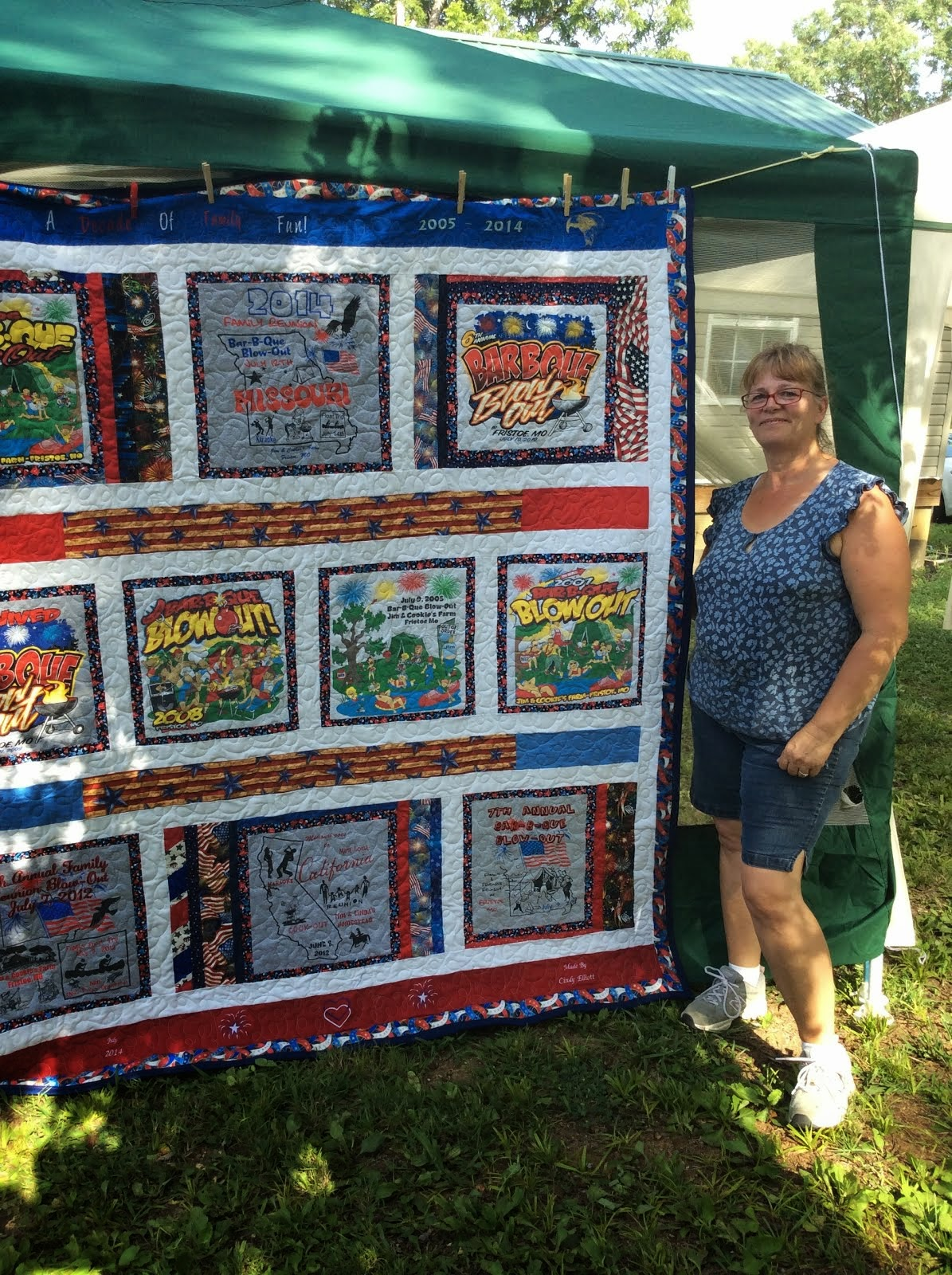 Cindy's Cool Quilt for Raffle
