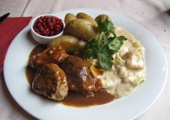 Comida típica Noruega