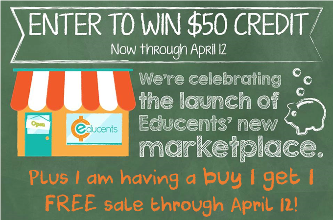 Educents giveaway and sale
